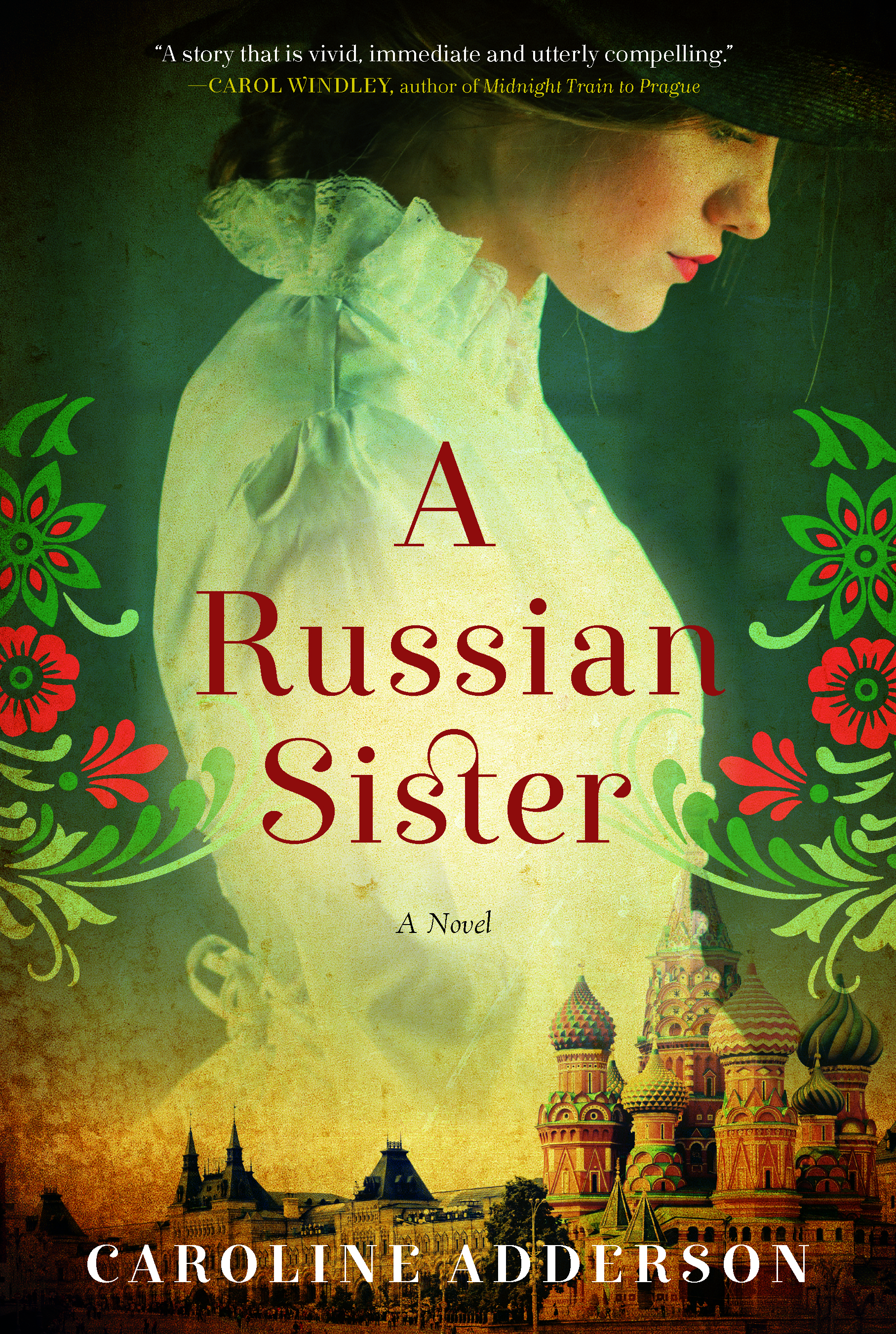 Adderson Caroline A Russian Sister Book Jacket