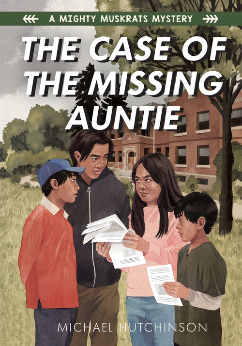 Hutchinson Michael The Case of the Missing Auntie Book Cover