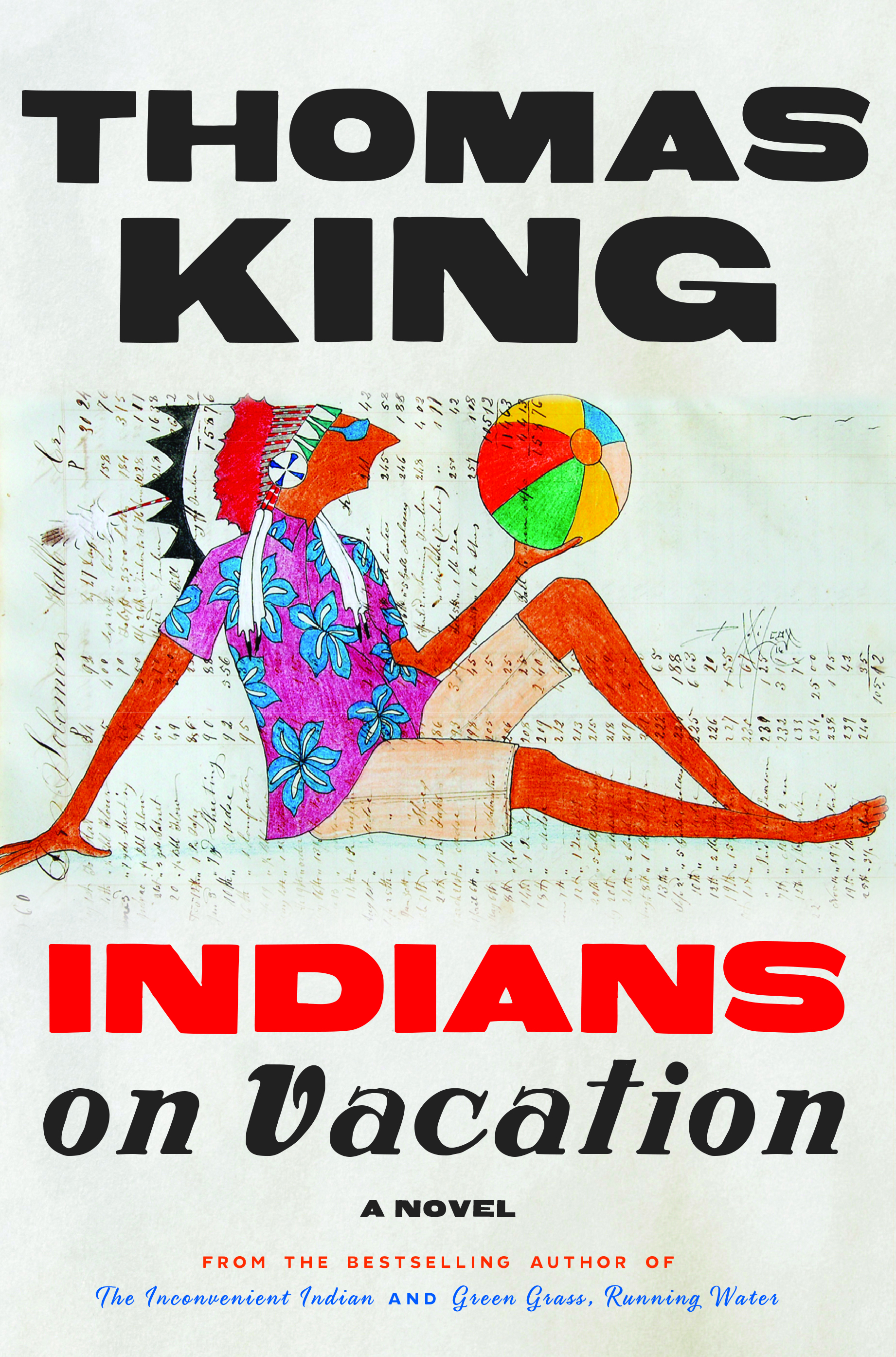 King Thomas Indians on Vacation Book Jacket