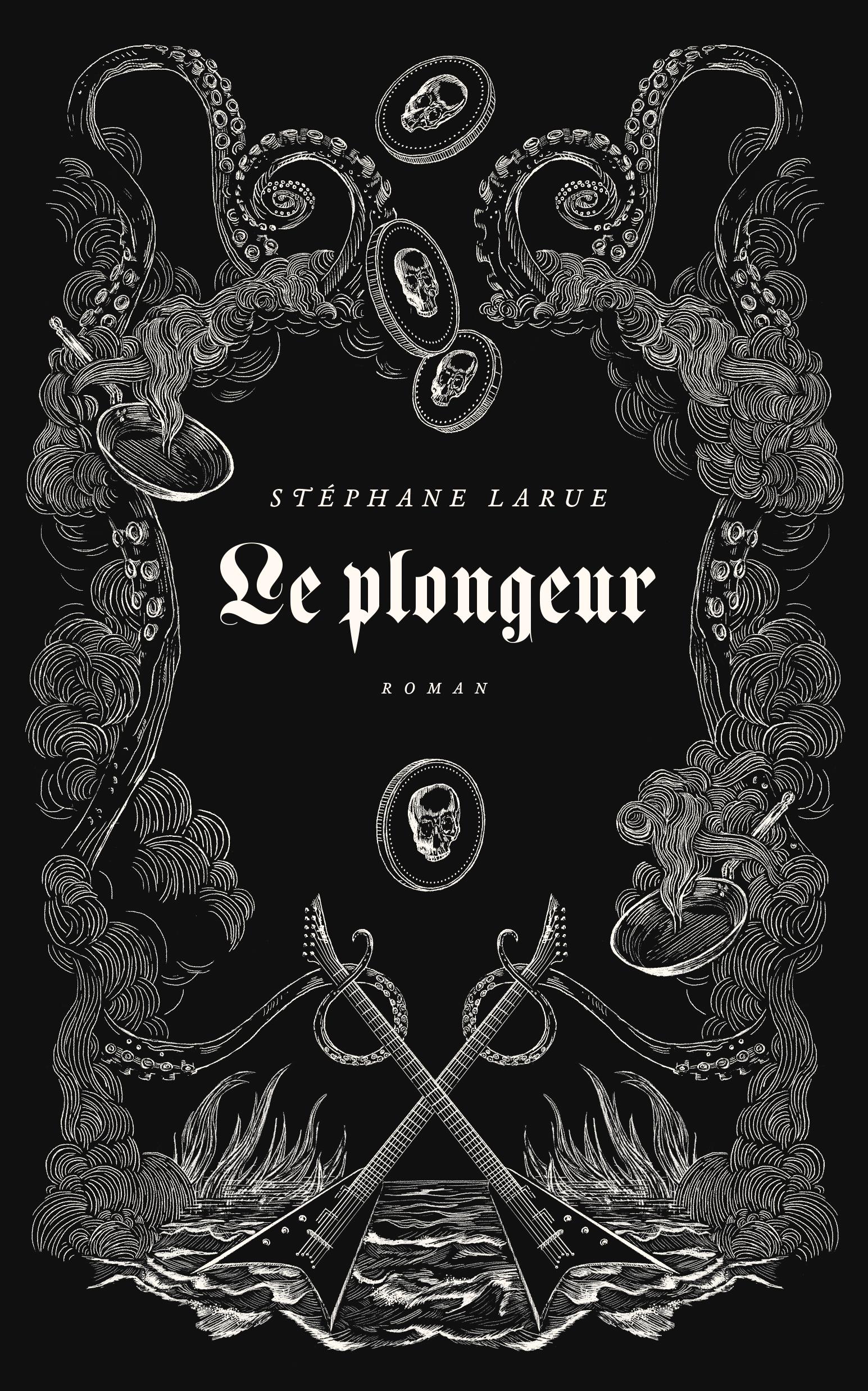 Larue Stephane Le Plongeur Book Cover