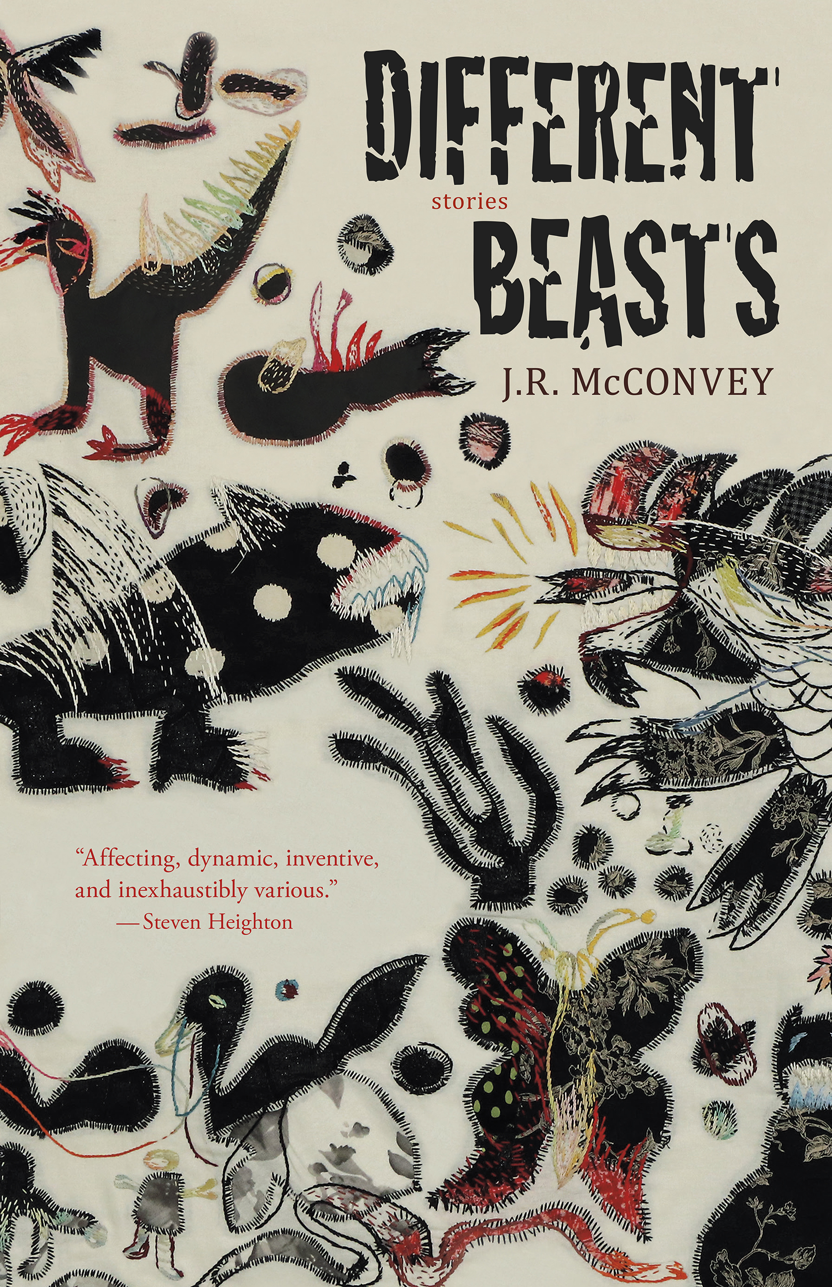 McConvey JR Different Beasts Book Jacket