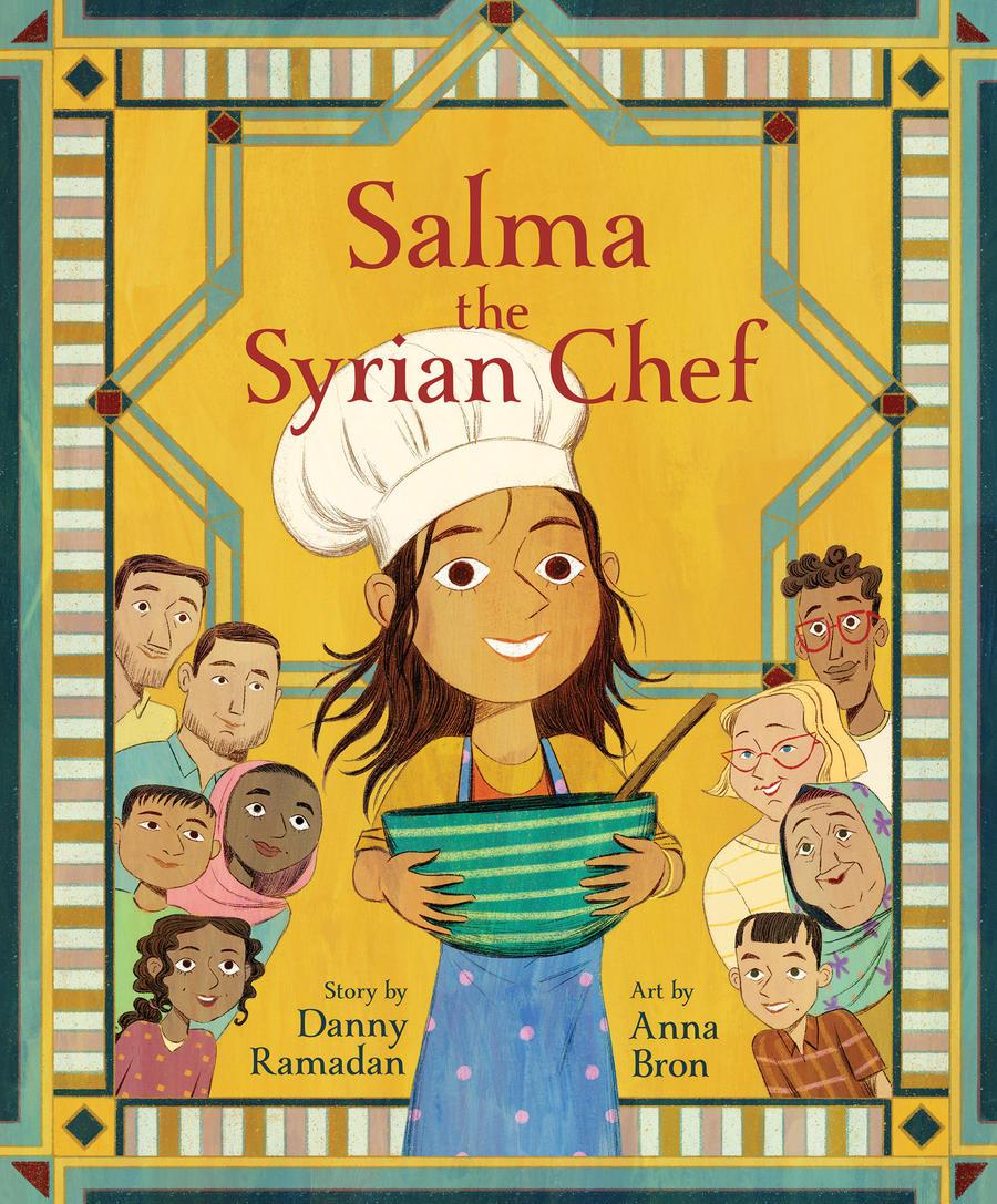 Ramadan Danny Salma the Syrian Chef Book cover