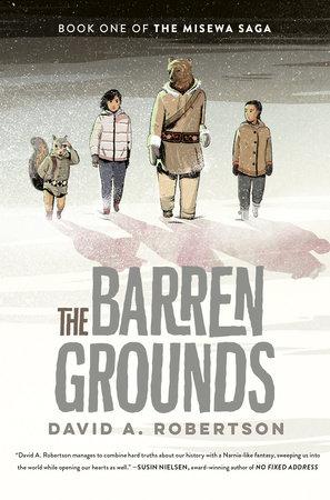 Robertson David A. The Barren Grounds BookCover