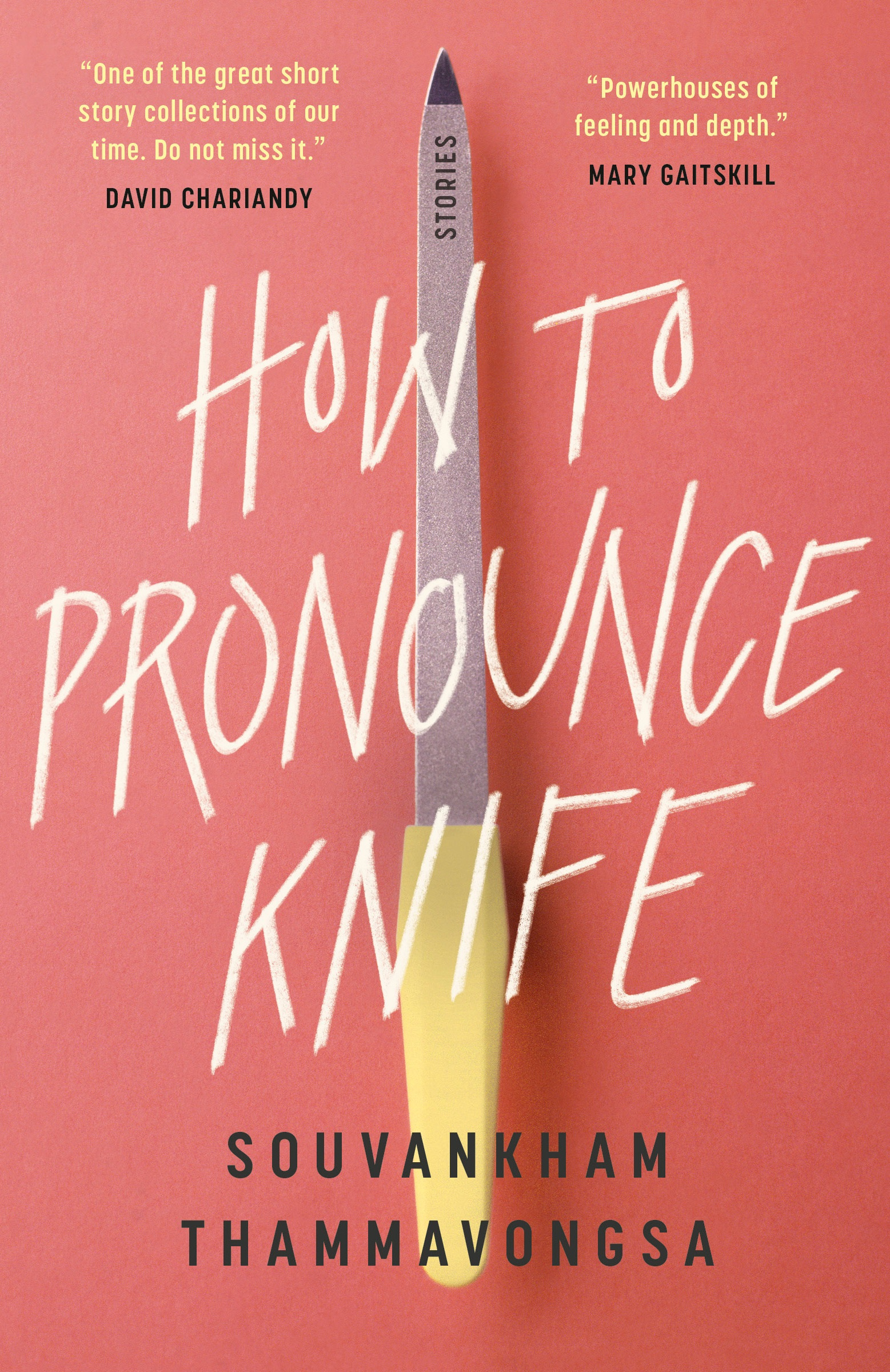 Thammavongsa Souvankham How to Pronounce Knife Book Jacket