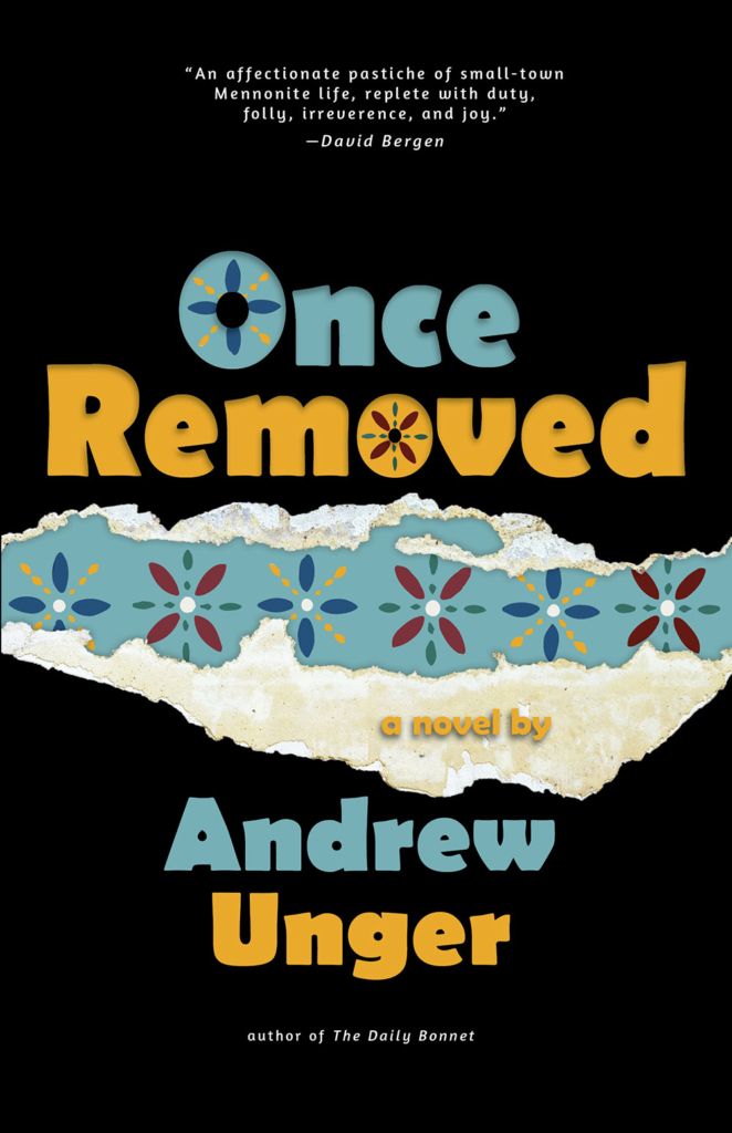 Unger Andrew Once Removed Book Cover